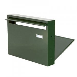 Invidual mailbox PD920 green