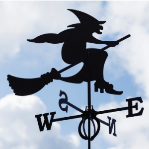 Weathervane Witch