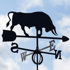 Weathervane Ox