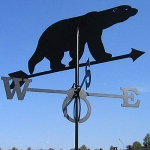 Weathervane Bear