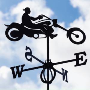 Weathervane Biker