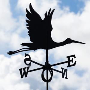 Weathervane Stork
