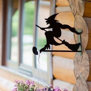 Hanging basket brackets Witch