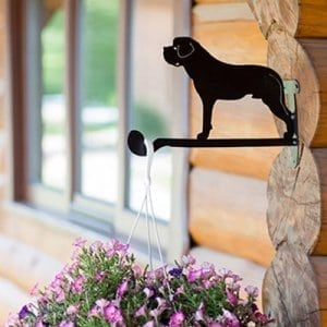 Hanging basket brackets Dog