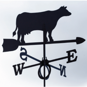 Weathervane Cow