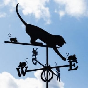 Weathervane Cat