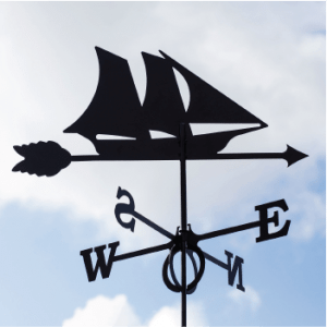 Weathervane Ship