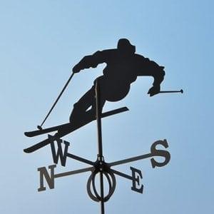 Флюгер лыжник